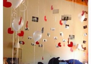 Intimate Birthday Ideas for Him Ballon Decoration Surprise for Him Love Welcome