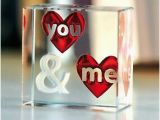 Intimate Birthday Ideas for Him Spaceform You Me Glass Romantic Love Gift Ideas for Her