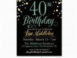Invitation Cards for 40th Birthday Party 24 40th Birthday Invitation Templates Psd Ai Free