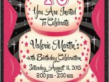Invitation Cards for 40th Birthday Party 40th Birthday Party Invitation 40th Birthday Cake