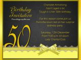 Invitation Cards for 50th Birthday Party Birthday Invitation Templates 50th Birthday Invitation