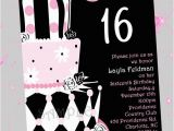 Invitation Cards for Sweet 16 Birthday Birthday Invites Sweet 16 Birthday Invitations Ideas