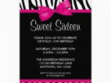 Invitation Cards for Sweet 16 Birthday Sweet 16 Birthday Invitations Templates