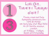 Invitation for 13th Birthday Girl Personalised Boys Girls Teenager 13th Birthday Party