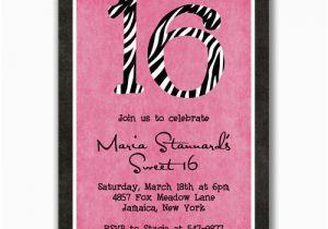 Invitation For 16th Birthday Party Ideas Cimvitation