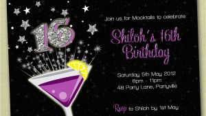Invitation for 16th Birthday Party Boys 16th Birthday Invitations Best Party Ideas