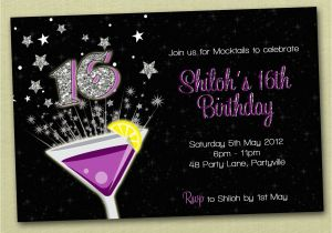 Invitation For 16th Birthday Party Boys Invitations Best Ideas