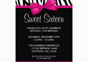 Invitation For 16th Birthday Party Sweet Invitations Templates Free