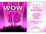 Invitation for 18th Birthday Party 18th Birthday Party Invitations Home Personalised Girl