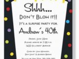 Invitation for A Surprise Birthday Party Wording for Surprise Birthday Party Invitations Free