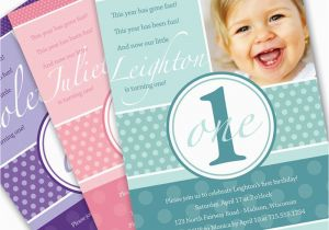 Invitation For One Year Old Birthday Party 1 Invitations Best Ideas