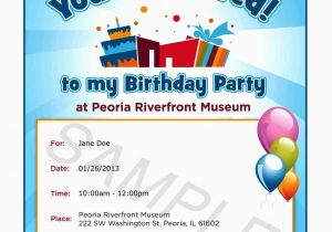 Invitation to Birthday Party Text Text Invitation Birthday Party Invitation Librarry