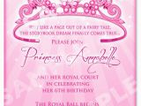Invitation Verbiage for Birthday Party Princess Birthday Party Invitation Wording Best Party Ideas