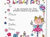 Invitation Wording for 5th Birthday Girl 5th Birthday Party Invitations Best Party Ideas