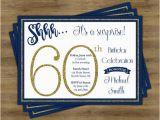 Invitation Wording for 60th Birthday Surprise Party Surprise 60th Birthday Invitation Surprise Birthday