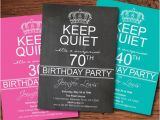 Invitation Wording for 70th Birthday Surprise Party Adult Surprise 70th Birthday Party Invitation 80th