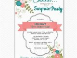 Invitation Wording for 70th Birthday Surprise Party Surprise Invitation 70th Birthday Party by Purplechicklet