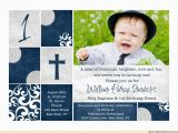 Invitation Wording for Baptism and Birthday Birthday and Baptism Invitations together Lijicinu