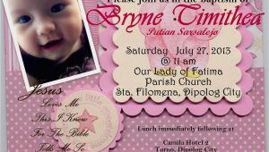 Invitation Wording for Baptism and Birthday First Birthday and Baptism Invitations First Birthday