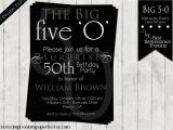 Invitations for 50 Birthday Party 50th Birthday Party Invitations for Men Dolanpedia