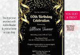 Invitations for 60th Birthday Party Templates 60th Birthday Invitation 60th Birthday Party Invitation 60th