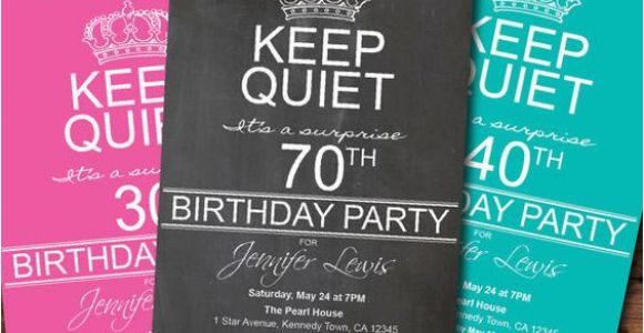 Invitations for 70th Birthday Party Templates 8 70th Birthday Party Invitations for Your Ideas
