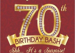 Invitations For 70th Birthday Surprise Party 15 Design And Theme Ideas