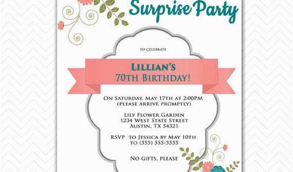 Download By SizeHandphone Tablet Desktop Original Size Back To Invitations For 70th Birthday Surprise Party