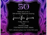 Invitations for A 50th Birthday Party Brilliant Emblem 50th Birthday Party Invitations Paperstyle