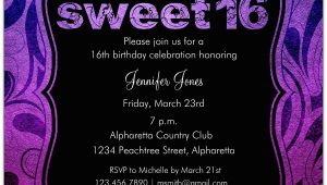 Invitations for Sweet Sixteen Birthday Party Brilliant Emblem Sweet 16 Birthday Party Invitations