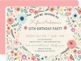 Invitations for Teenage Girl Birthday Party 21 Teen Birthday Invitations Inspire Design Cards