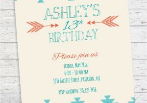 Invitations for Teenage Girl Birthday Party Best 25 Teen Birthday Invitations Ideas On Pinterest