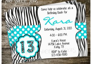 Invitations for Teenage Girl Birthday Party Tween Birthday Party Invitations Best Party Ideas
