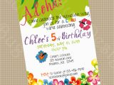 Invite to Birthday Party Wording 5th Birthday Party Invitation Wording Cimvitation