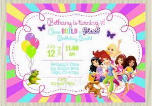 Inviting Friends for Birthday Party 17 Best Images About Victoria 39 S Lego Friends Party On