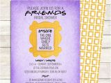 Inviting Friends for Birthday Party Friends Tv Show Shower Invitation Bridal by Littlepebblepaper