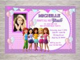 Inviting Friends for Birthday Party Lego Friends Birthday Invitations Printable