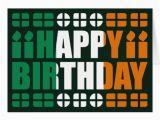 Irish Happy Birthday Meme Ireland Flag Birthday Card Zazzle