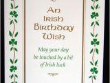 Irish Happy Birthday Quotes Irish Happy Birthday Quotes Quotesgram