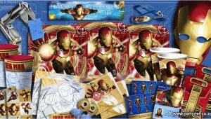 Iron Man Birthday Decorations Iron Man 3 Party Supplies Ideas Accessories Decorations