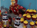 Iron Man Birthday Party Decorations Avengers Iron Man Birthday Party Ideas Photo 1 Of 30