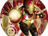 Iron Man Birthday Party Decorations Iron Man 3 Cake Icing Image This Party Started