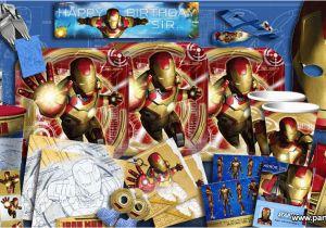 Iron Man Birthday Party Decorations 3 Supplies Ideas Accessories