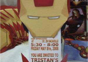 Iron Man Birthday Party Invitations 33 Of The Best Avengers Ideas On Planet