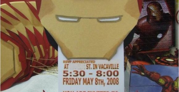 Iron Man Birthday Party Invitations 33 Of the Best Avengers Birthday Party Ideas On the Planet