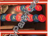 Iron Man Happy Birthday Banner Items Similar to Happy Birthday Banner Any Super Hero