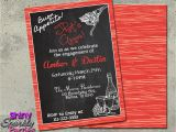 Italian Birthday Party Invitations Italian theme Italian Invitations Engagement Party