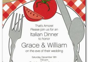 Italian Birthday Party Invitations Italian themed Party Invitations Oxsvitation Com