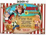Jake and the Neverland Pirate Birthday Invitations Items Similar to Jake and the Neverland Pirates Birthday
