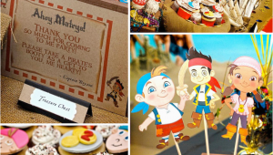 Jake and the Neverland Pirates Birthday Decorations Kara 39 S Party Ideas Jake and the Neverland Pirates Boy 2nd